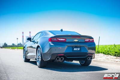 BORLA® INTRODUCES PERFORMANCE EXHAUST SYSTEMS FOR 2016 CHEVROLET CAMARO 3.6L V6 AND 2.0L TURBO