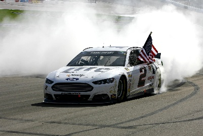 BRAD KESELOWSKI COMPLETES WEEKEND SWEEP WITH FIRST NASCAR SPRINT CUP SERIES WIN AT LAS VEGAS MOTOR SPEEDWAY