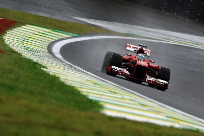 Brazilian GP - Wet Practice
