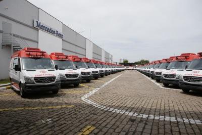 Gesundheit! Brazilian Ministry Of Health Buys 800 Mercedes-Benz Sprinter Ambulances