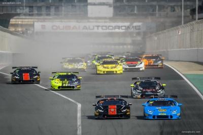 Breukers And Jefferies Won Again At Dubai In The Lamborghini Super Trofeo Middle East