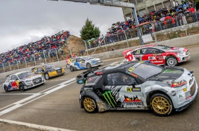 BRITAIN REVS UP FOR FIA WORLD RALLYCROSS CHAMPIONSHIP BANK HOLIDAY BONANZA
