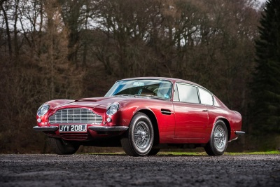 BTCC Champion's Aston Martin DB6 For Auction At Silverstone