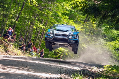 BUCKY LASEK TO MAKE GRAVEL RALLY DEBUT AT NEW ENGLAND FOREST RALLY