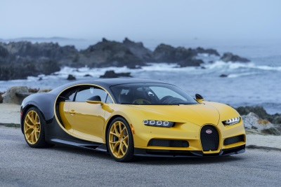 Pebble Beach 2017: Bugatti Delivers First Chiron To A Customer In The United States