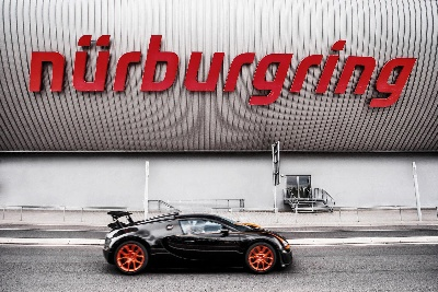 BUGATTI TOOK THE LEAD AT THE NUERBURGRING 24 HOURS RACE