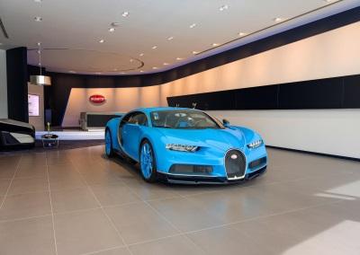 Bugatti Inaugurates The Brand's Largest Showroom In Dubai
