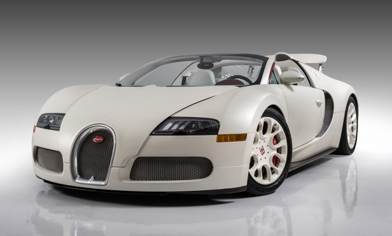 CRAIG JACKSON'S BARRETT-JACKSON TO AUCTION BUGATTI ONCE OWNED BY PRO BOXING CHAMPION FLOYD MAYWEATHER