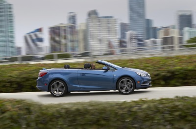 CASCADA LAUNCH LEADS BUICK'S PERCEPTION-SHIFTING 2016