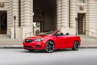 BUICK EXPANDS CASCADA SPORT TOURING APPEAL WITH NEW SPORT RED EXTERIOR