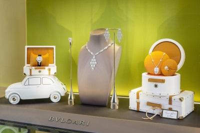 Bulgari Jewellery Takes A Trip In The Fiat 500