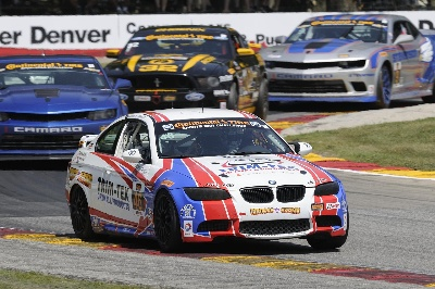 BURTON RACING BMW 128I TAKES STREET TUNER VICTORY AT ROAD AMERICA
