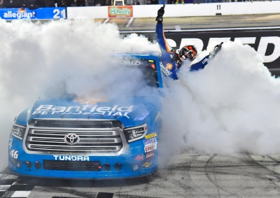 Busch Sweeps Bristol, While Toyota Wins In NHRA, USAC