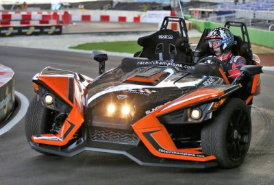 Kyle Busch And Travis Pastrana Enjoy First Runs On Brand New Track Ahead Of This Weekend's ROC Miami