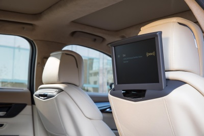 CADILLAC CT6 REAR SEAT INFOTAINMENT SYSTEM OFFERS NEW LEVELS OF CONNECTIVITY