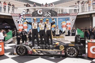 Cadillac DPi-V.R Team Mustang Sampling Wins At The Glen