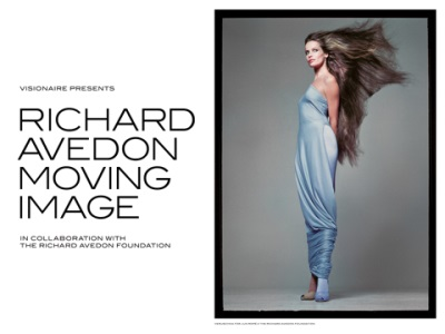CADILLAC AND VISIONAIRE PRESENT 'RICHARD AVEDON – MOVING IMAGE' IN COLLABORATION WITH THE RICHARD AVEDON FOUNDATION