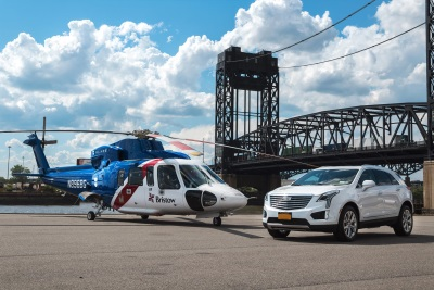 Cadillac Partners With Blade To Launch 'Cadillac Fly And Drive' For Summer 2017