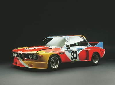 ALEXANDER CALDER BMW ART CAR HIGHLIGHTS CLASS OF BMW 3.0CSLS AT 2014 AMELIA ISLAND CONCOURS D'ELEGANCE