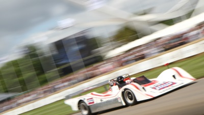 CAN-AM THUNDER ROLLS INTO GOODWOOD