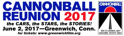 Cannonball Outlaw Reunion Set For June 2 In Greenwich, Conn.