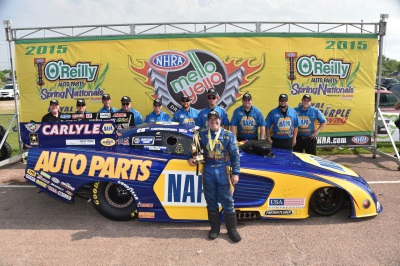 CAPPS TAKES 2015 DODGE CHARGER R/T TO RUNNER-UP FINISH AT NHRA SOUTHERN NATIONALS