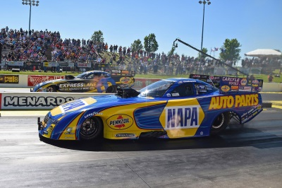Capps Wins Fourth Straight In All-Mopar Dodge Charger R/T NHRA Funny Car Final At Topeka