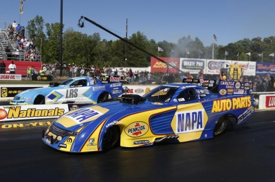 Capps Wins Third Straight In Mopar Dodge Charger R/T NHRA Funny Car At Atlanta
