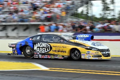 CAPPS SNAPS UP WIN IN ALL-MOPAR DODGE FUNNY CAR FINAL AT NHRA GATORNATIONALS