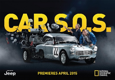 CAR S.O.S. NEW SERIES LAUNCHED TO INTERNATIONAL MEDIA BY FUZZ TOWNSHEND