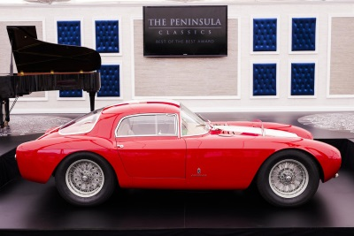 The Peninsula Classics Best Of The Best Award For 2016 Awarded To 1954 Maserati A6GCS//53 Berlinetta By Pinin Farina