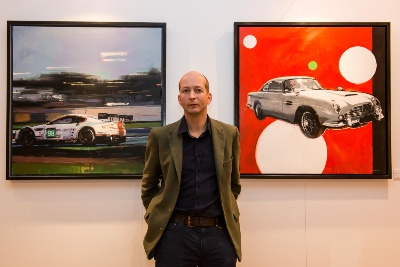 Cars As Art – Aston Martin Centenary Celebrations On Canvas