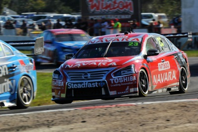 MICHAEL CARUSO STARS FOR NISSAN WITH FOURTH PLACE AT WINTON