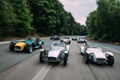 Caterham Gathers Magnificent Sevens To Mark 60Th Birthday