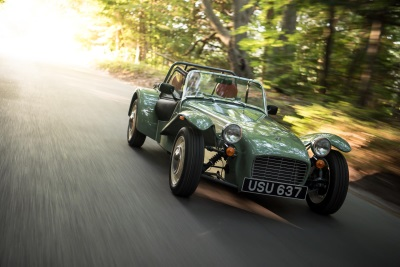 CATERHAM SEVEN SPRINT GONE IN SEVEN DAYS
