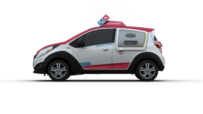 DOMINO'S CHOOSES CHEVROLET FOR NEXT-GEN DELIVERY VEHICLE