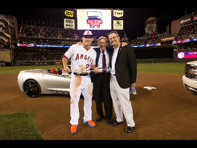 CHEVROLET PUTS CORVETTE INTO PLAY FOR MVP AND CHARITY