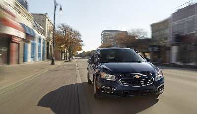 CHEVROLET CRUZE NAMED 2014 FLEET CAR OF THE YEAR