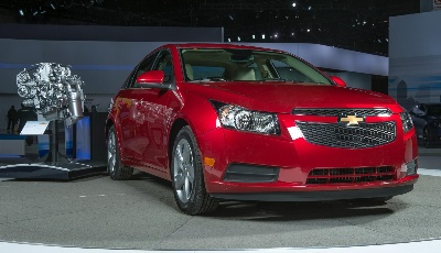 CHEVROLET CRUZE NAMED DIESEL CAR OF THE YEAR
