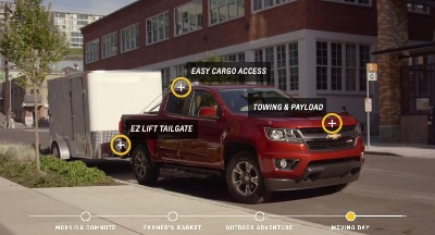 CHEVROLET LAUNCHES DIGITAL COLORADO EXPERIENCE