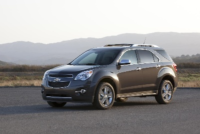 CHEVY EQUINOX, GMC TERRAIN EARN TOP SAFETY PICK+ RATINGS