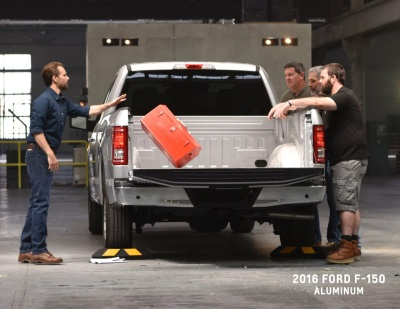 CHEVROLET DEMONSTRATES COMPETITIVE ADVANTAGE OF SILVERADO'S ROLL-FORMED, HIGH-STRENGTH STEEL BED