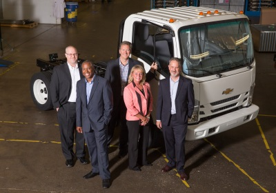 CHEVROLET'S NEW LOW CAB FORWARD TRUCKS HEADING TO DEALERS NATIONWIDE