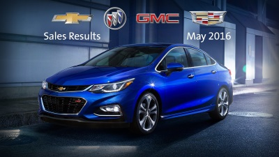 GM'S NEWLY LAUNCHED CHEVROLET MALIBU AND CRUZE AND CADILLAC XT5 AND CT6 OFF TO STRONG START