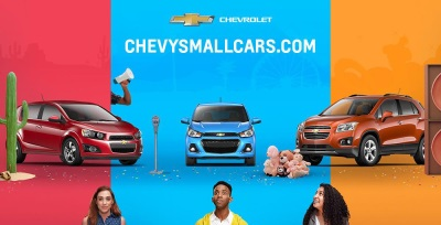 CHEVROLET LAUNCHES NEW SMALL CAR INITIATIVES