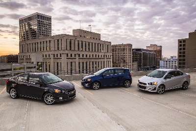 CHEVROLET SONIC NAMED 2015 TOP SAFETY PICK BY INSURANCE INSTITUTE FOR HIGHWAY SAFETY