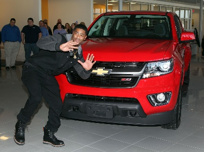 UPON FURTHER REVIEW, CHEVROLET AWARDS SUPER BOWL MVP COLORADO TO MALCOLM BUTLER