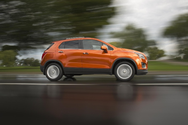 20 WAYS THE ALL-NEW CHEVROLET TRAX MAKES ITS MARK