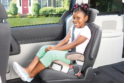 STUDY: NINE IN 10 PARENTS MOVE CHILDREN FROM BOOSTER SEAT TO SEAT BELT TOO SOON