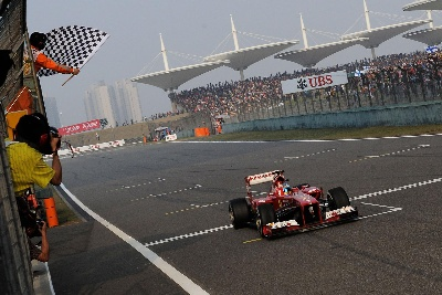 FOUR CHINA WINS FOR FERRARI
